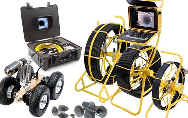 почистване ан канали с камера робот
