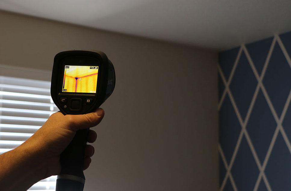 диагностиката на теч с термовизионна камера