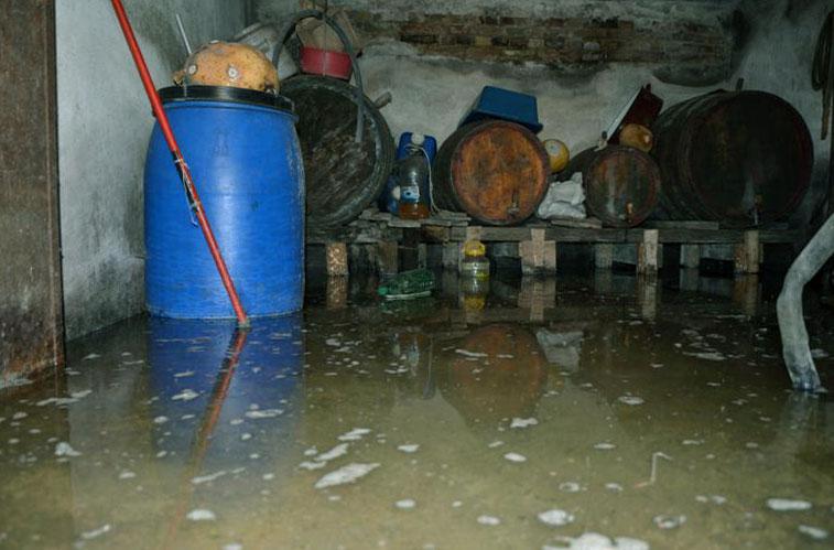 отводняване на мазе