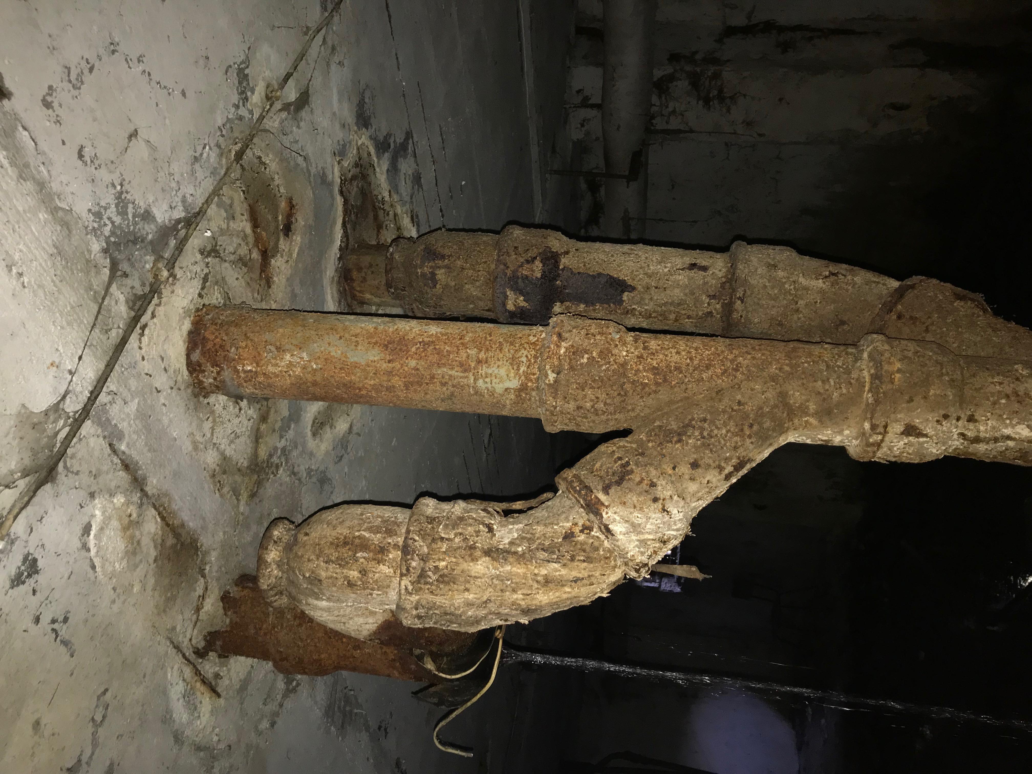 Смяна на стари железни тръби