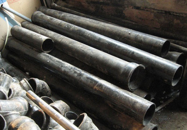 чугунени тръби за канализация