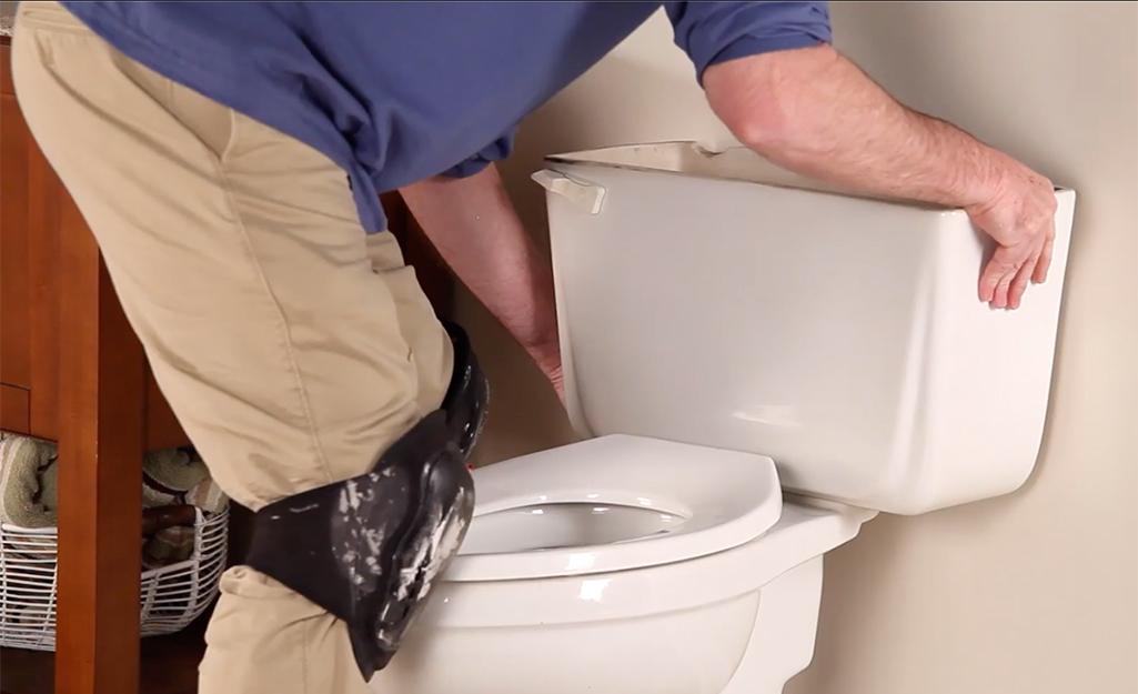 Монтиране на казанче за тоалетна чиния