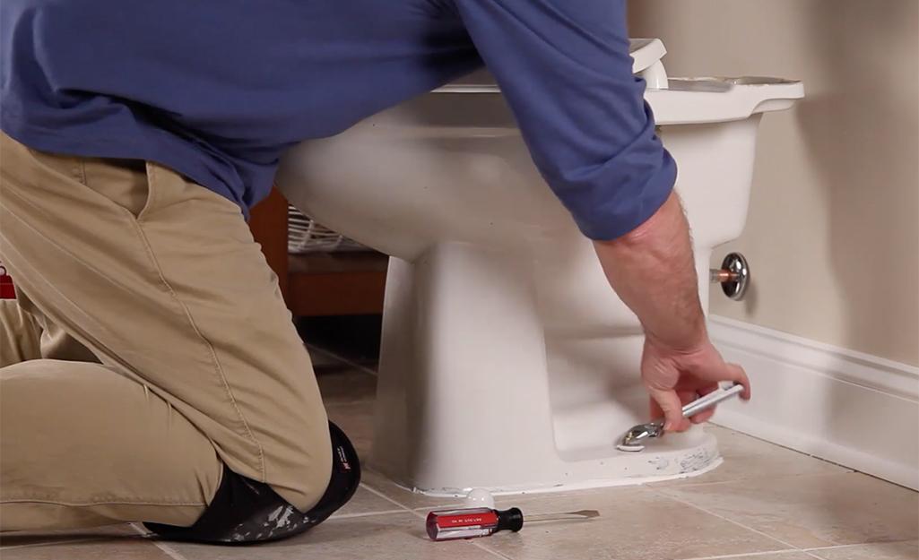 Монтиране на тоалетна чиния