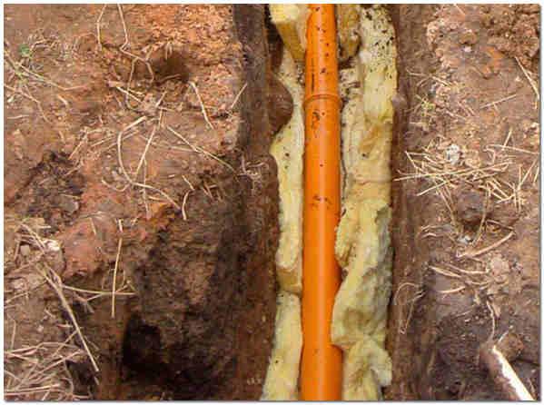 Топлоизолация на външната канализация
