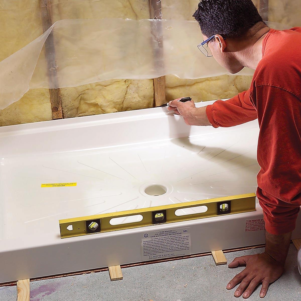 инсталиране на душ кабина
