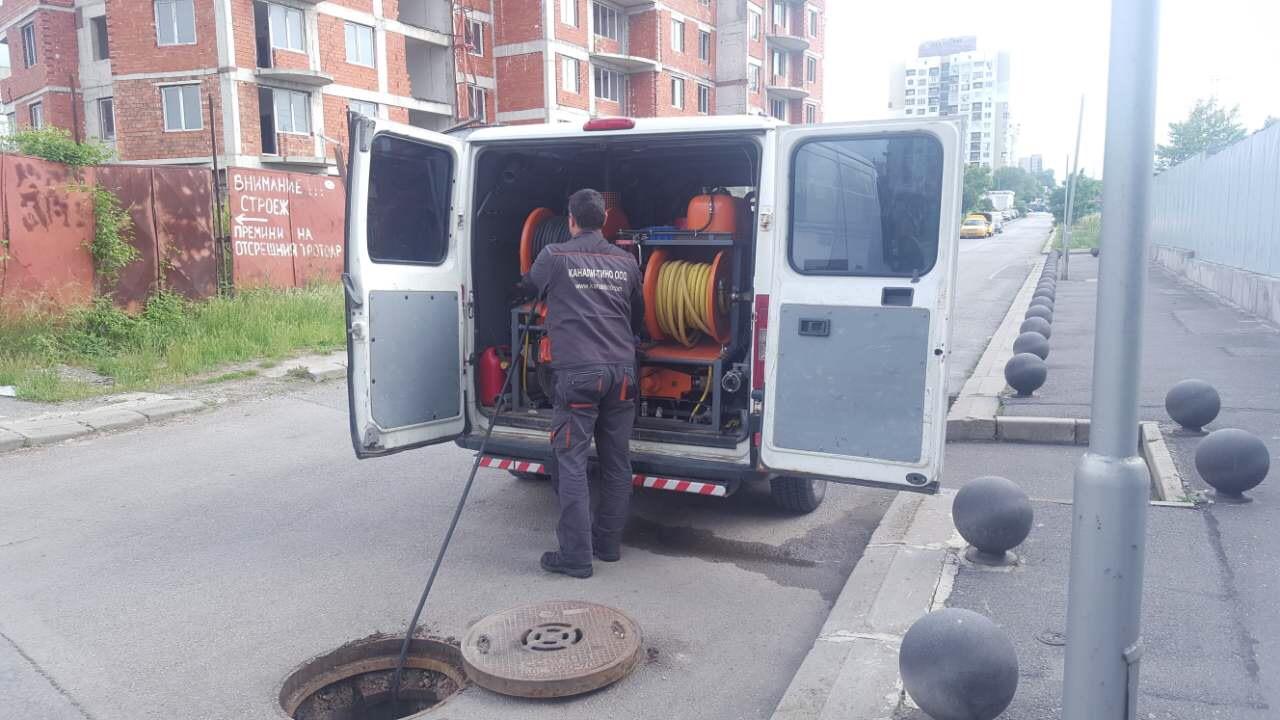 Почистване на дъждовната канализация