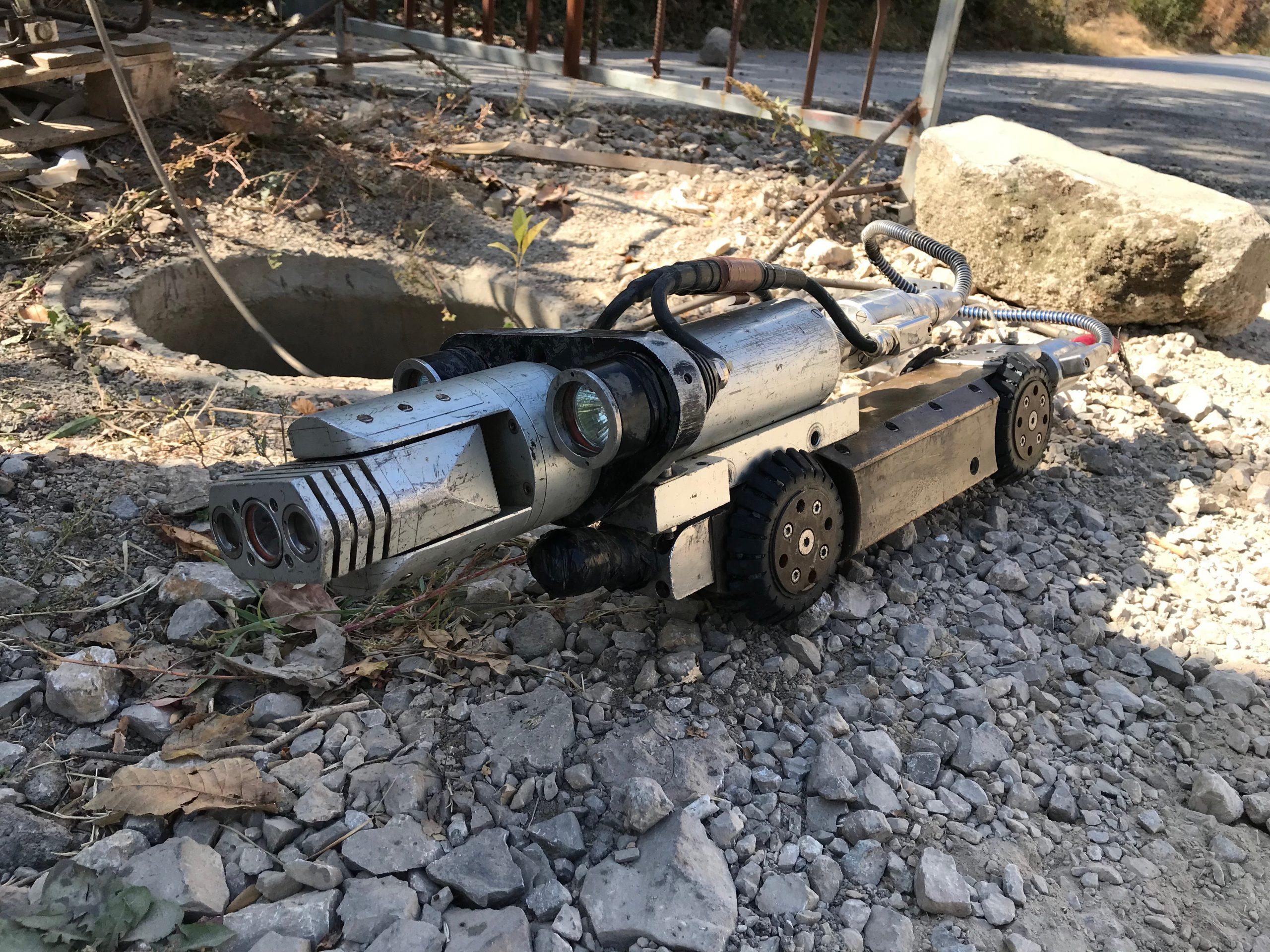 Видеодиагностика на проблеми в канализацията в Мусагеница
