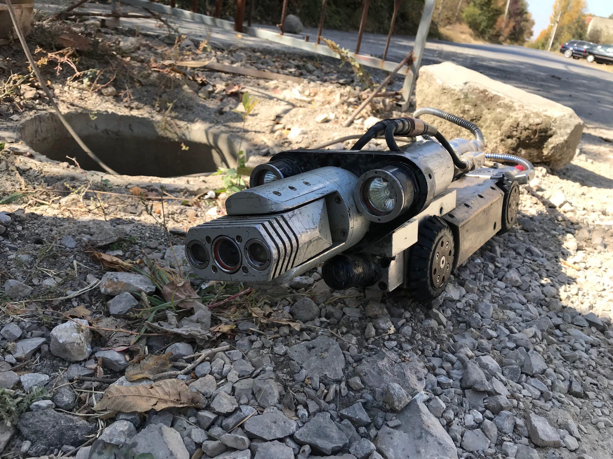 робот камера